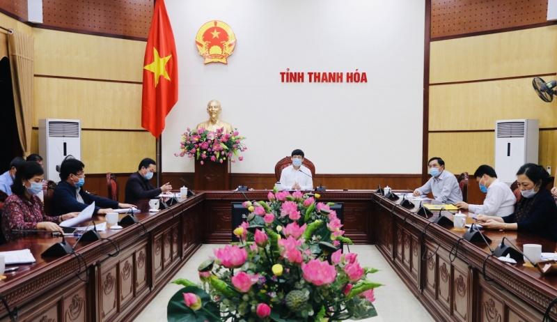 Chủ tịch tỉnh Thanh Hóa: Ra công điện tăng cường giám sát, cách ly, phòng, chống dịch COVID-19
