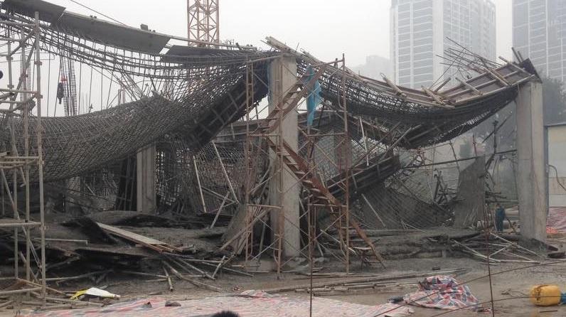 Sập giàn giáo ở Hà Nội: 3 nạn nhân tử vong đều quê ở Yên Bái