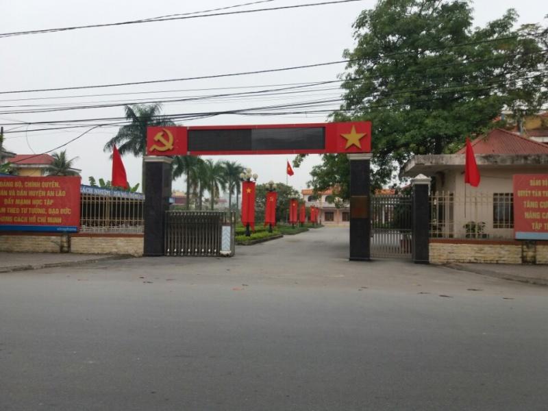An Lão, Hải Phòng: Chủ tịch UBND huyện bị kỷ luật, cách chức phó bí thư
