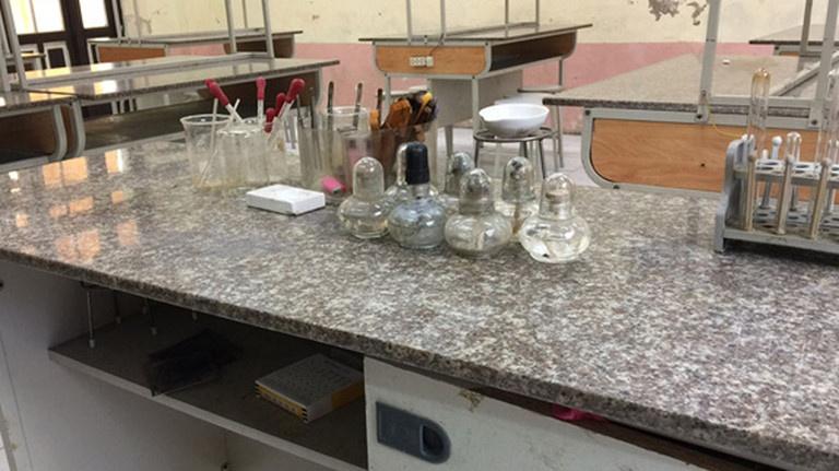 Hải Phòng: Hai giáo viên bị bỏng nặng khi dọn dẹp phòng thí nghiệm