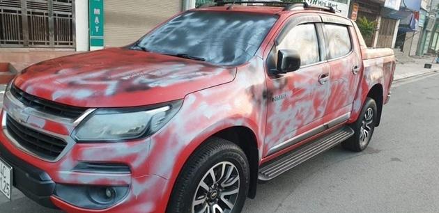 """Quảng Ninh: Một nhà báo bị kẻ xấu phá hoại xe ô tô nghi để """"dằn mặt"""""""