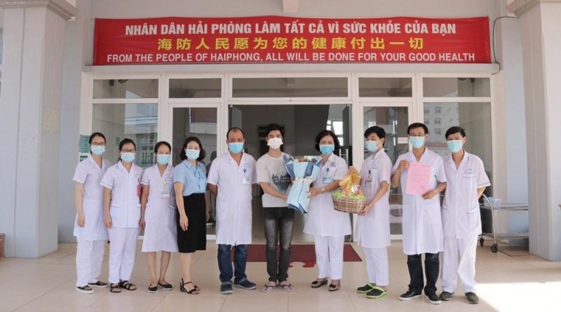 Hải Phòng: Bệnh nhân tái dương tính với COVID-19 được xuất viện