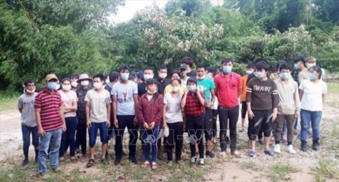 Quảng Ninh: Bắt giữ và cách ly 33 đối tượng nhập cảnh trái phép