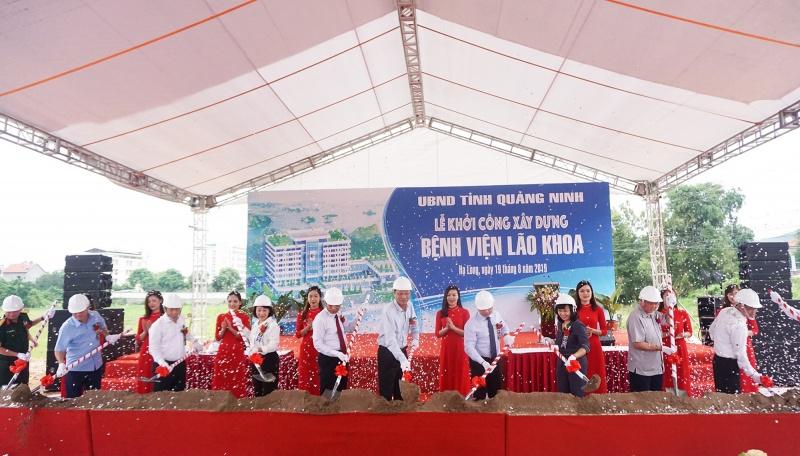 Quảng Ninh: Khởi công xây dựng bệnh viện lão khoa hơn 400 tỷ đồng