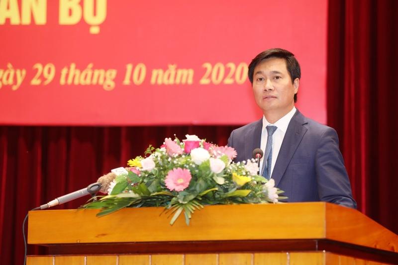 Thứ trưởng bộ xây dựng được điều động làm phó bí thư tỉnh Quảng Ninh