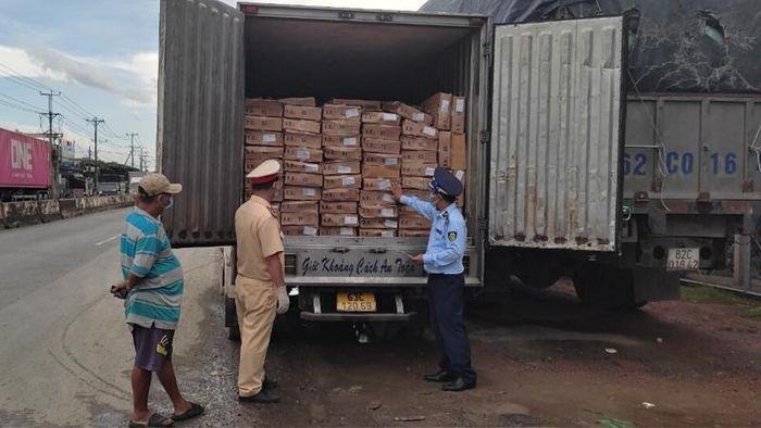 Tiền Giang: Phát hiện 5 tấn cá nục nhập từ Trung Quốc vi phạm nhãn hàng hóa