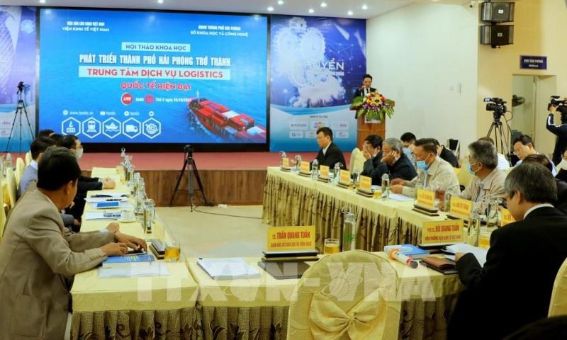 Đưa Hải Phòng trở thành trung tâm dịch vụ Logistics quốc tế hiện đại