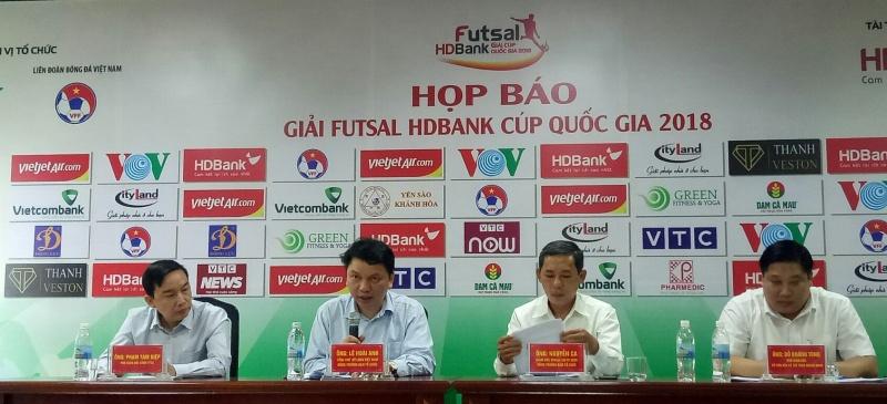 Cơ hội nhận thưởng khi xem futsal HDBank Cúp Quốc gia 2018