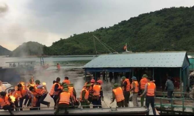Quảng Ninh lên tiếng vụ người dân ném bom xăng phản đối cưỡng chế khiến ba cán bộ trọng thương