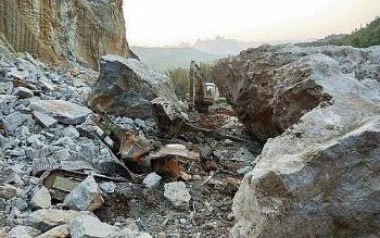Hải Phòng: Sạt lở mỏ đá, hai người thương vong