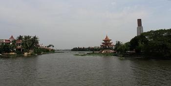 Hải Phòng: Nước sông Đa Độ bị nhiễm mặn khiến nước sinh hoạt của nhiều hộ dân có vị lạ