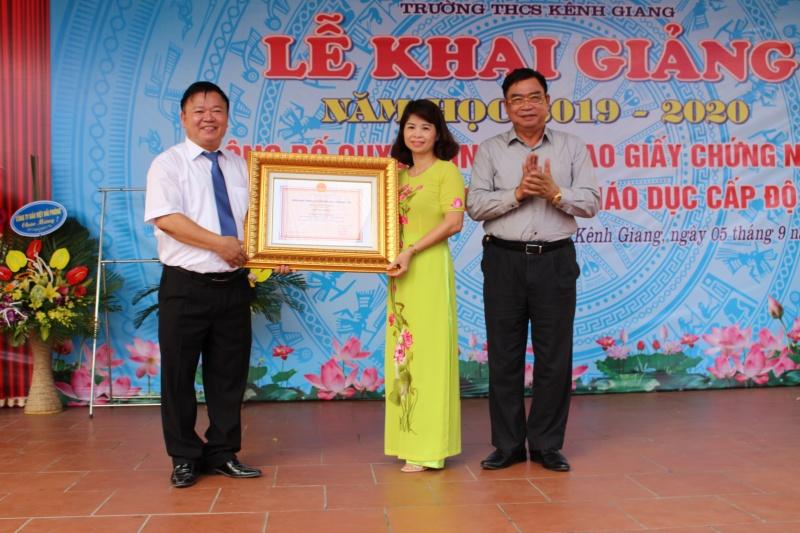 Trường THCS Kênh Giang: Nơi ươm mầm tri thức trên quê hương đất Cảng anh hùng