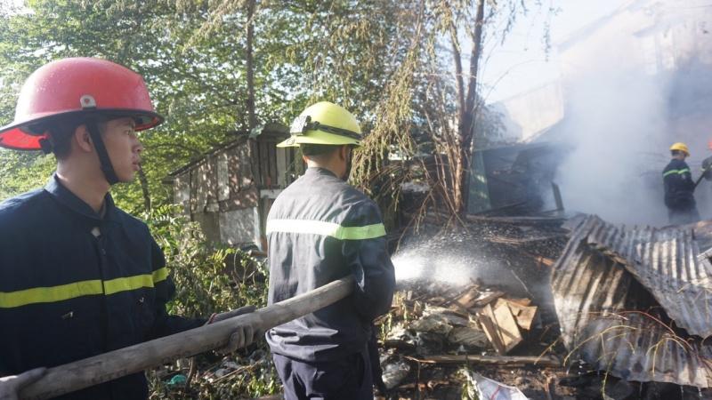 Đà Nẵng: Bà hỏa viếng nhà ngày 29 tết
