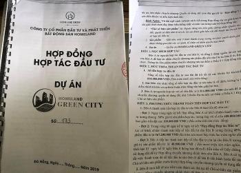 quang ngai vi pham hop dong homeland green city bi nha dau tu to chiem dung von