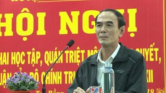 Quảng Ngãi: Bí thư huyện Trà Bồng được bổ nhiệm làm Giám đốc Sở Công Thương