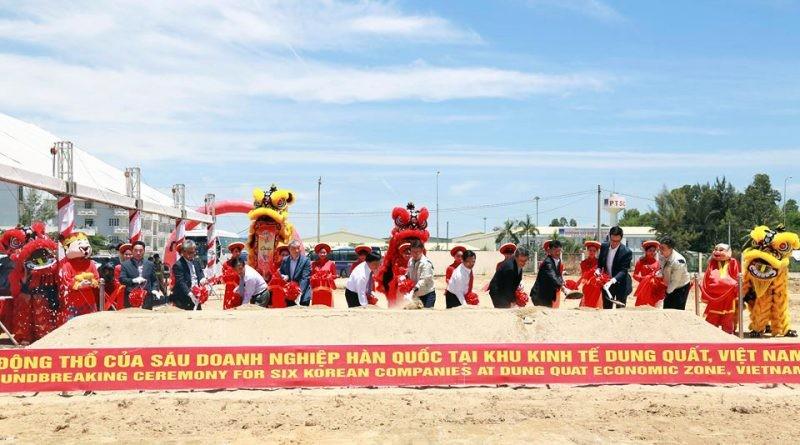 Quảng Ngãi: Khu kinh tế Dung Quất và các Khu công nghiệp thu hút gần 297.000 tỷ đồng vốn đầu tư