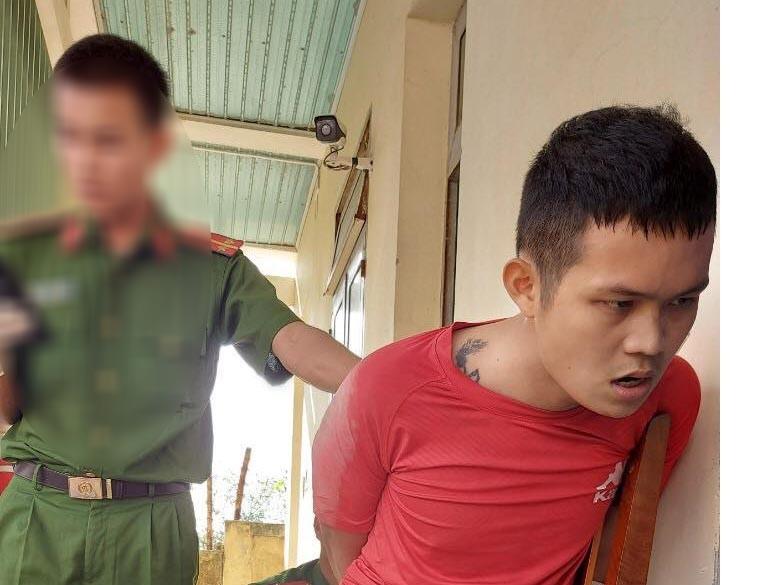 Quảng Ngãi: Bắt nhanh thanh niên phê ma túy táo tợn cướp taxi