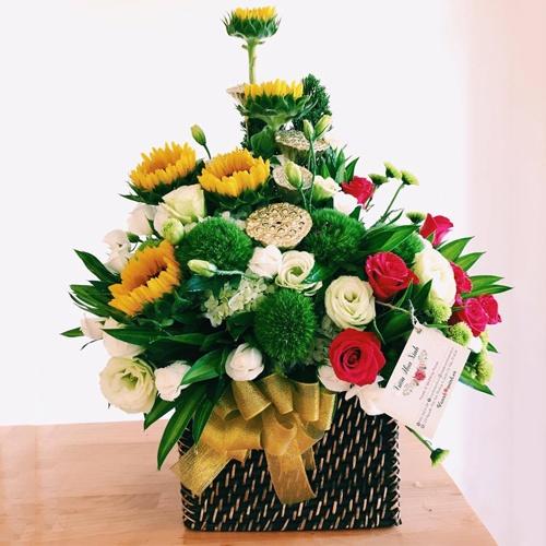 Quảng Ngãi: Chỉ đạo thực hành tiết kiệm trong việc tặng hoa chúc mừng