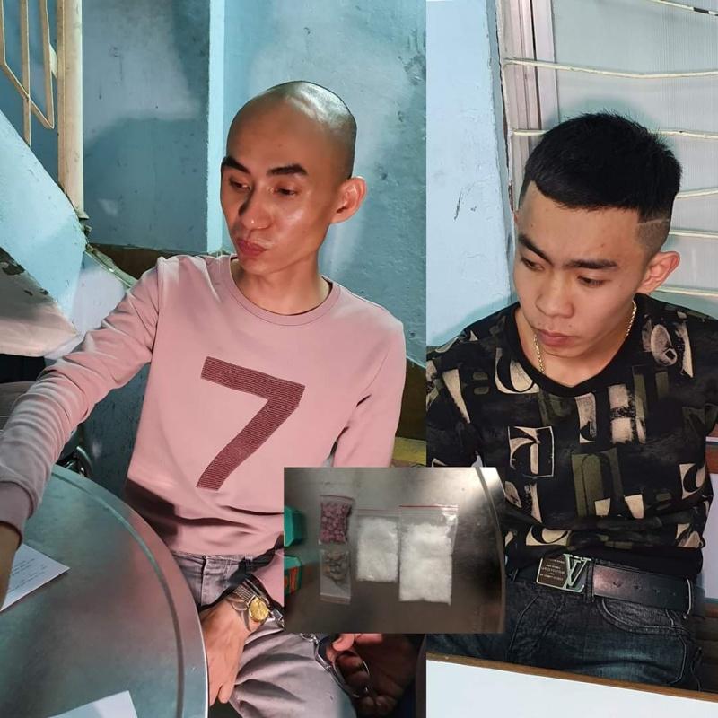 Bắt quả tang 2 đối tượng mang ma túy từ Quảng Trị vào Đà Nẵng bán