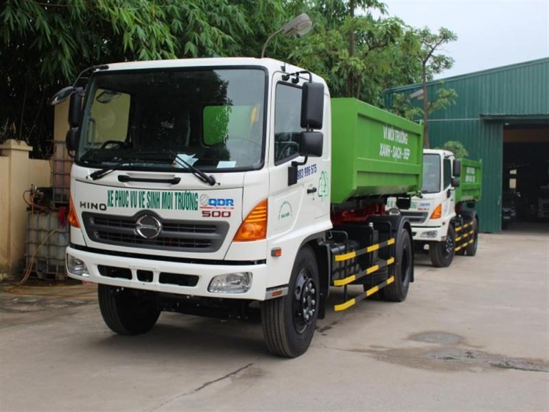 Đà Nẵng : Sẽ mua  20 xe thu gom rác mới và xe chuyên dụng quét đường