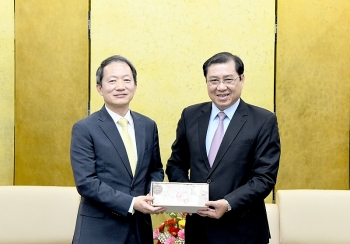 Tổng lãnh sự Hàn Quốc tại Đà Nẵng đánh giá cao nỗ lực của thành phố trong việc phòng, chống dịch bệnh Covid-19