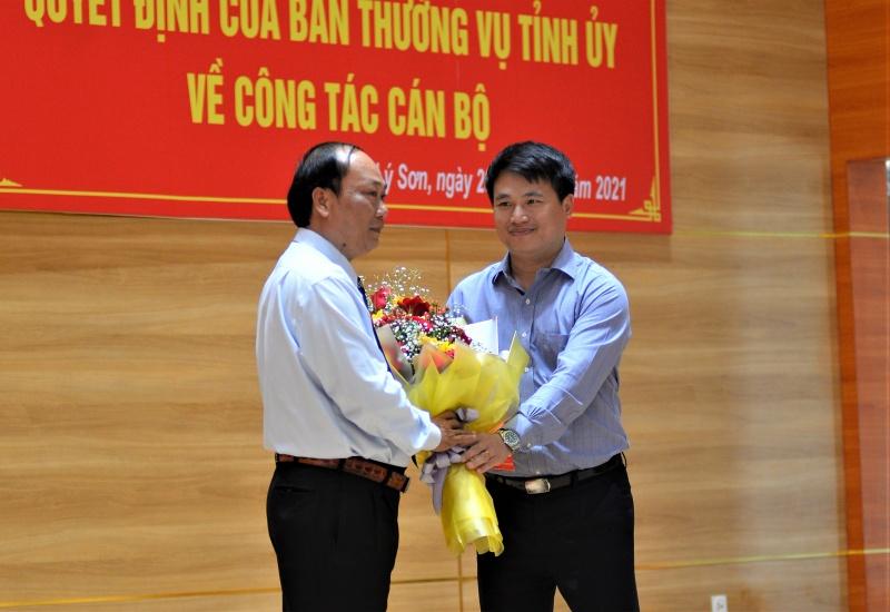 Quảng Ngãi: Chủ tịch huyện Lý Sơn được bầu giữ chức Bí thư Huyện ủy