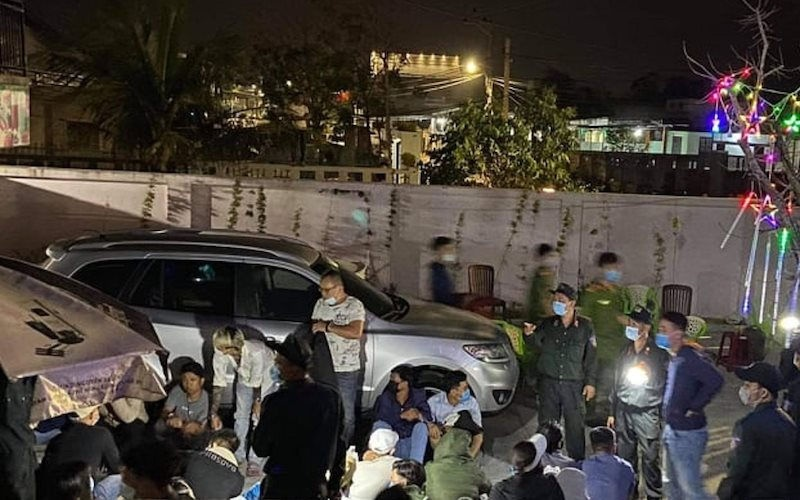 Quảng Nam: Bắt quả tang 33 đối tượng nam nữ tụ tập đánh bạc