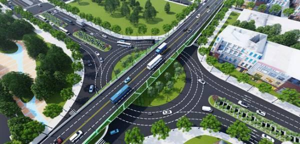 """Đà Nẵng khởi công dự án """"Cải tạo cụm nút giao thông phía Tây cầu Trần Thị Lý"""""""