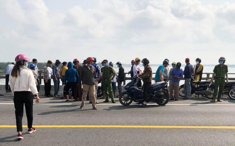 Quảng Nam: Đã tìm thấy thi thể thanh niên nhảy cầu Câu Lâu tự tử