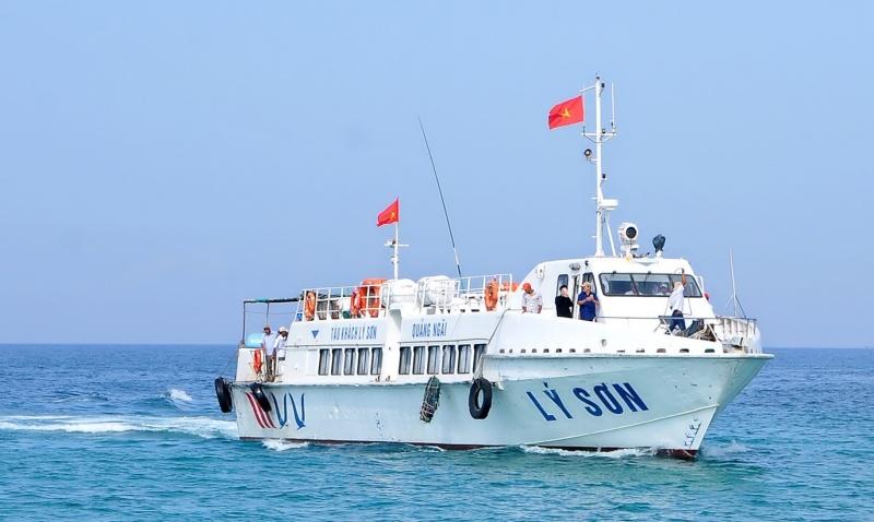 Quảng Ngãi: Bác đề xuất tuyến đường thủy Đà Nẵng - Lý Sơn