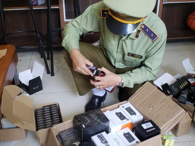 Đà Nẵng: Phát hiện hàng ngàn sản phẩm thuốc lá điện tử không rõ nguồn gốc