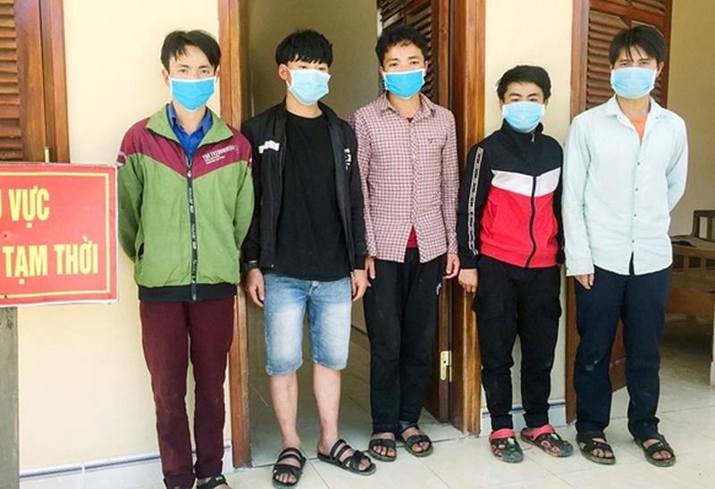 Quảng Nam: Phát hiện 5 người vượt biên trái phép vào Việt Nam