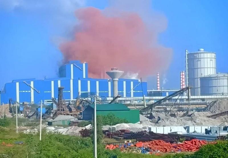 Hòa Phát – Dung Quất liên tục xả thải ô nhiễm, chính quyền lo người tụ tập phản đối