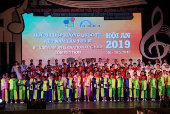 Quảng Nam: Hội thi hợp xướng quốc tế Việt Nam