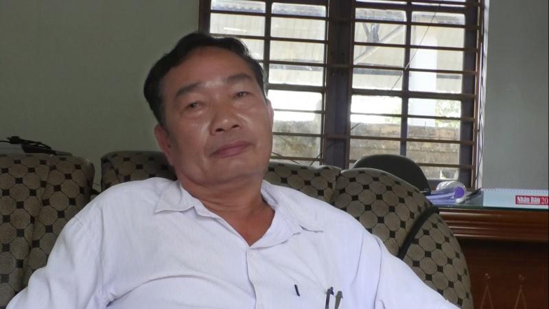 Quảng Nam: Kênh mương hư hỏng đỗ vỡ, ông  Lê Văn Cường - Chủ tịch xã Bình Trung nói hồ sơ liên quan là tài liệu mật