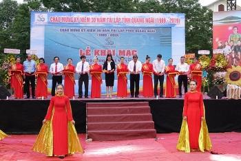 quang ngai hoi cho trien lam san pham nui an song tra
