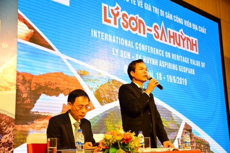 Khai mạc Hội thảo Quốc tế về giá trị di sản công viên địa chất Lý Sơn - Sa Huỳnh
