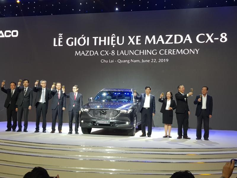 Quảng Nam: Thaco Trường Hải chính thức ra mắt Mazda CX8