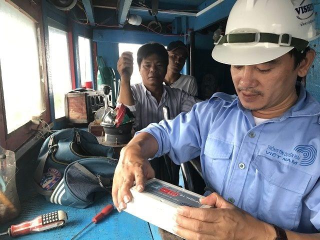 Quảng Ngãi: Nhiều tàu cá mất kết nối thiết bị giám sát