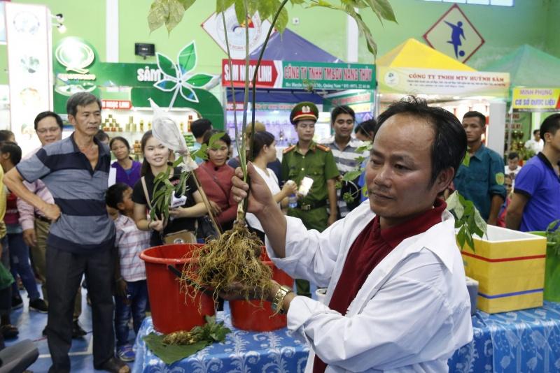 Quảng Nam: Khởi động lại phiên chợ sâm Ngọc Linh