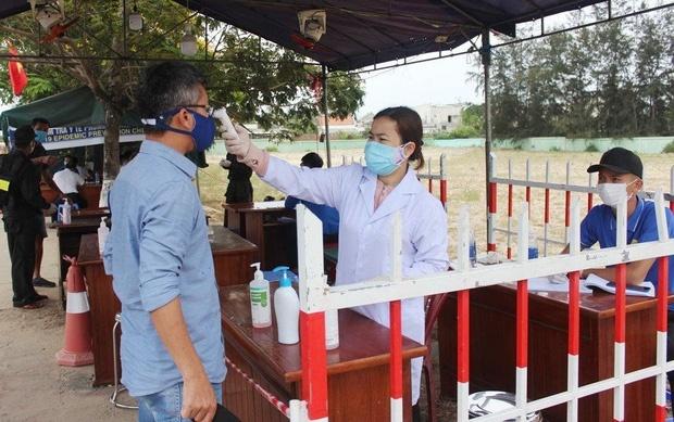 Quảng Nam: Dừng cách ly người về từ Đà Nẵng