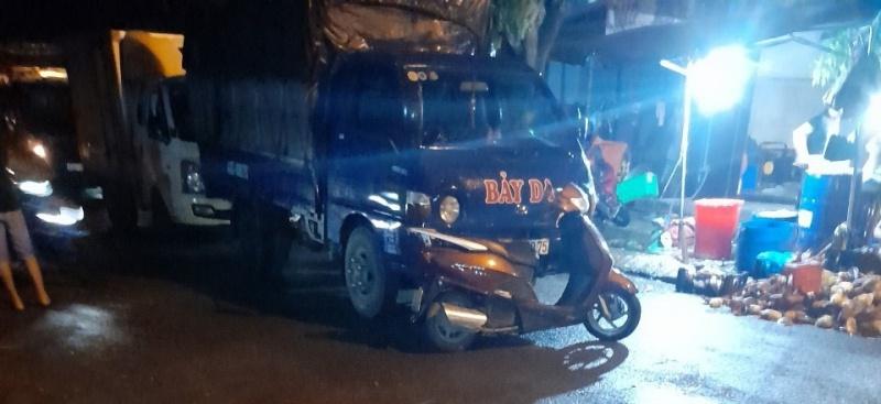 Quảng Nam: Dàn cảnh gây tai nạn giao thông để không cho phân phối thịt bò ở chợ Vĩnh Điện?