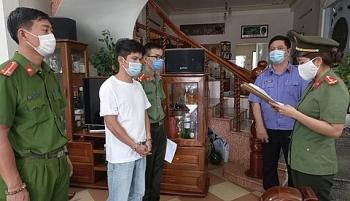 da nang khoi to them 4 giam doc trong duong day to chuc nhap canh trai phep