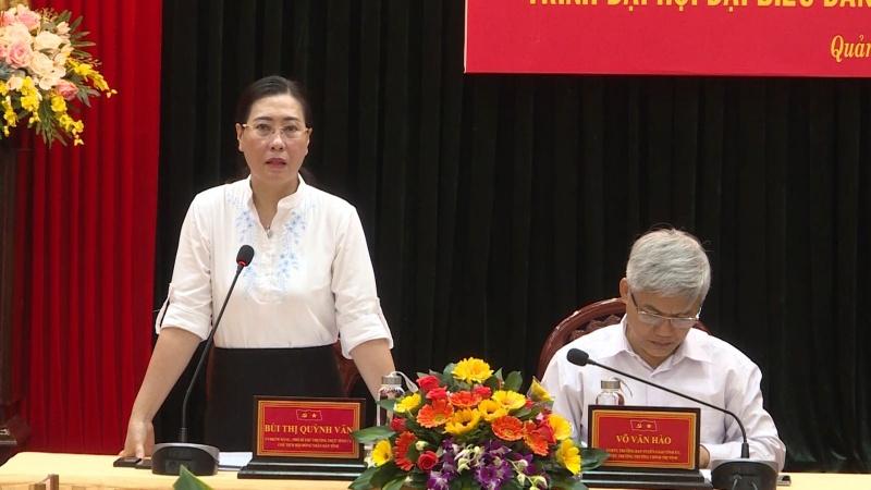 Quảng Ngãi: Nguyên lãnh đạo tỉnh góp ý vào Dự thảo báo cáo Chính trị trình Đại hội đại biểu tỉnh Đảng bộ