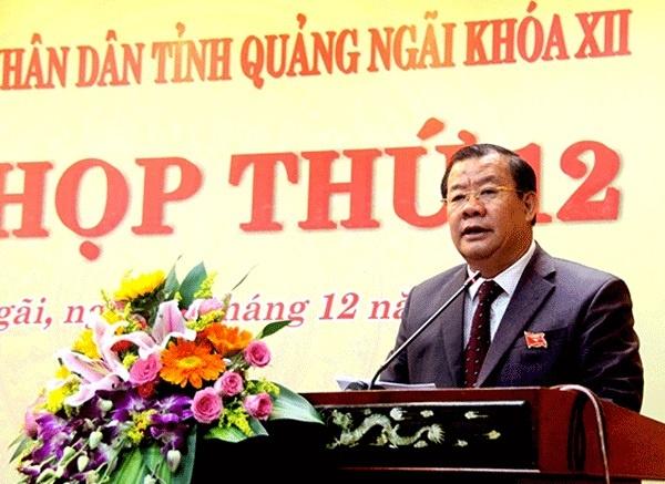Quảng Ngãi: Phân công Phó Chủ tịch thường trực điều hành thay thế Chủ tịch UBND tỉnh