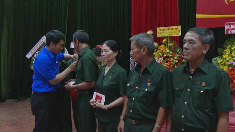 Quảng Ngãi: Kỷ niệm 70 năm ngày truyền thống lực lượng thanh niên xung phong