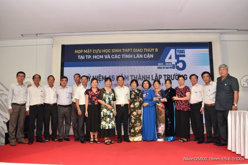 Trường THPT Giao Thủy B kỷ niệm 45 năm ngày thành lập(1973 -2018)