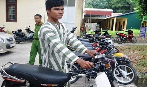 Huế: Bắt giữ đối tượng trộm xe máy