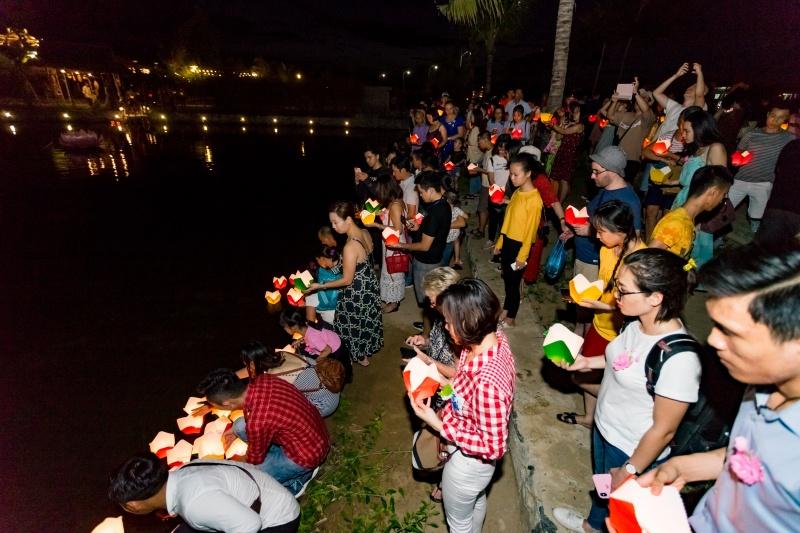 """Quảng nam: Lễ hội Vu Lan """"Về với yêu thương"""" tại công viên Ấn tượng Hội An"""