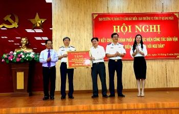 Quảng Ngãi: Ký kết Chương trình phối hợp cùng Bộ tư lệnh Cảnh sát biển